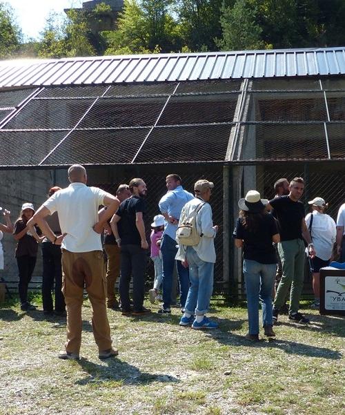 Prihvatni centar za supove na Uvcu / Shelter Center at Uvac