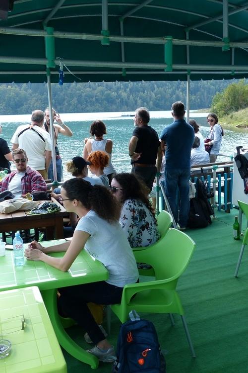 Na Zlatarskom jezeru  / At  Zlatar lake